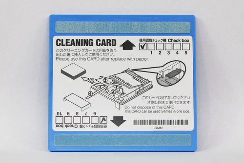 CLEANING CARD - CP30DW/CP30W/CP31W