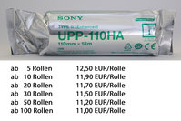 SONY Thermopapier UPP-110HA