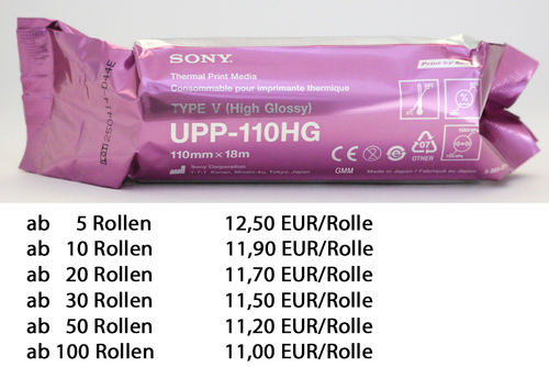 SONY Thermal Paper UPP-110HG