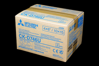 Mitsubishi Paper/Ink Ribbon Set CK-D746U