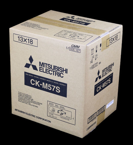 Mitsubishi Paper/Ink Ribbon Set CK-M57S